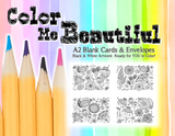 Color Me Beautiful Greeting Cards Assorted