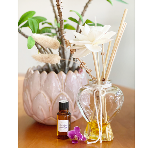 Essential Oil Diffuser Gift Set, Essential Oil Diffuser in Heart Jar