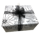 LindaGeez Wildflower Printed Tissue Paper Package