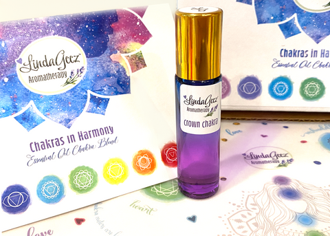 Crown Chakra Essential Oil Roll On Blend 10 ml