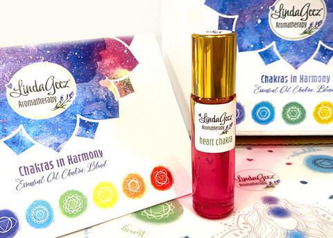 Heart Chakra Essential Oil Roll On - 10 ml