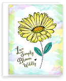 Live Simply, Bloom Wildly Inspired Note Card Assortment with Blank Inside