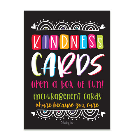 Kindness Card Box Set - 5x7 Post Card Box Set