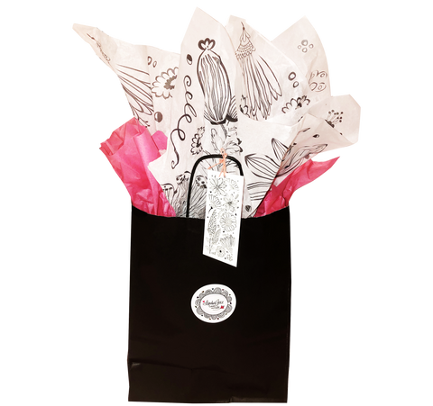 LindaGeez Wildflower Gift Bag Ensemble