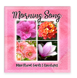 Morning Song Garden Party Blooms Mini Greeting Cards