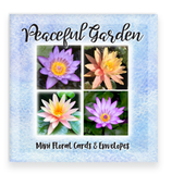 Peaceful Garden Waterlily Mini Card Collection Assorted