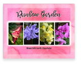 Rainbow Garden, Garden Blooms Greeting Cards, Assorted
