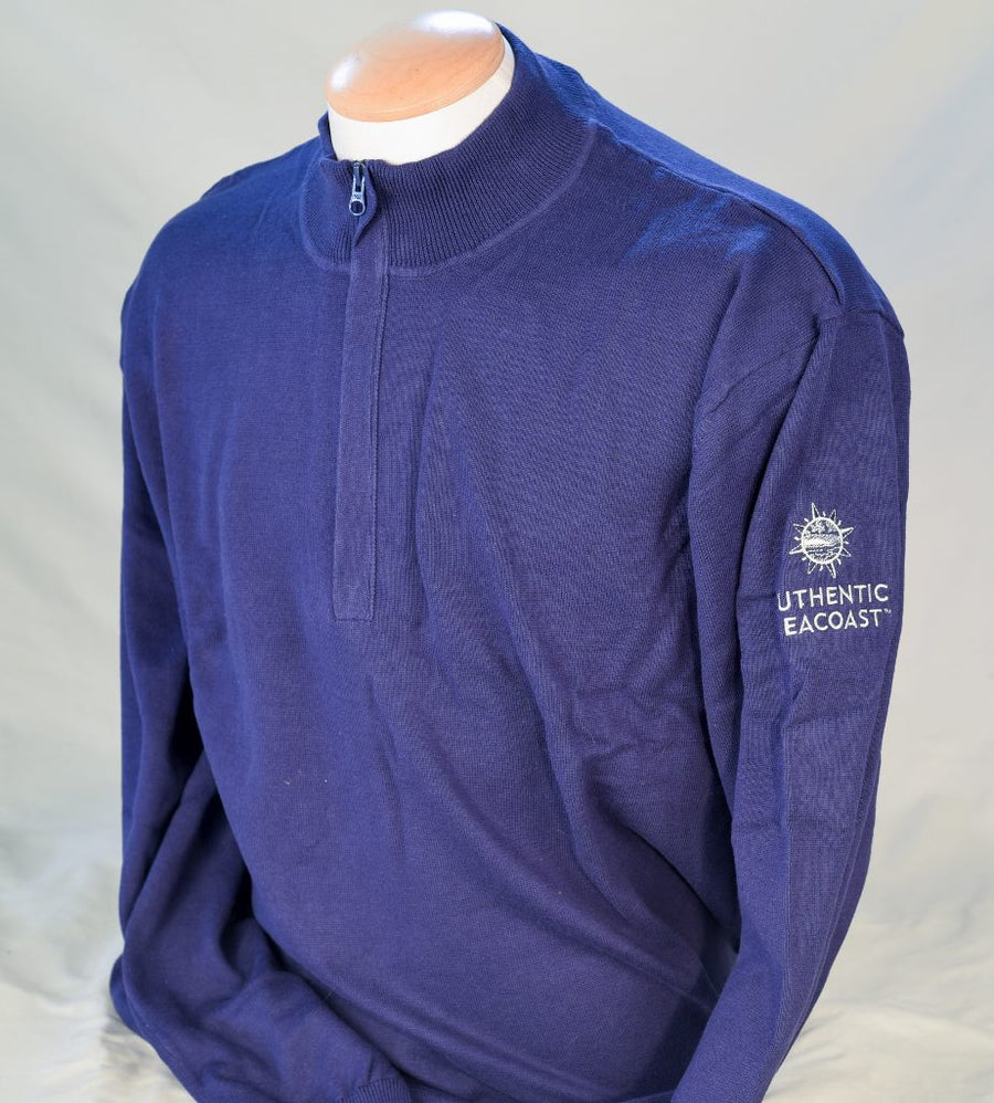 Authentic Seacoast Imatra Half Zip Sweater