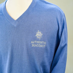 Authentic Seacoast Imatra V-Neck Sweater