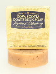 Authentic Seacoast Nova Scotia Goat's Milk Soap - Highland Blueberry