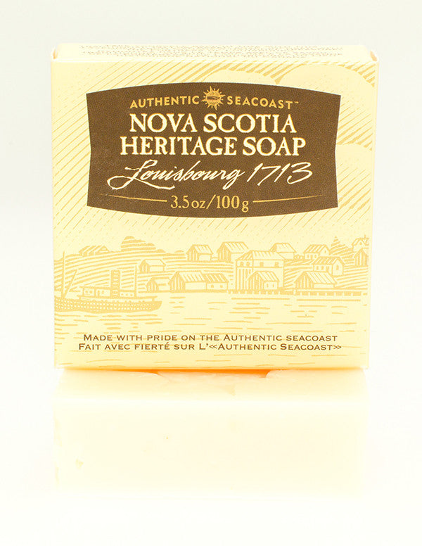 Authentic Seacoast Nova Scotia Heritage Soap - Louisbourg 1713