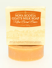 Authentic Seacoast Nova Scotia Goat's Milk Soap - Rare Bird Beer