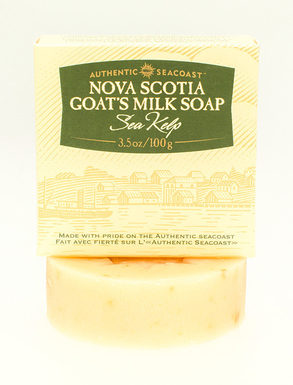 Authentic Seacoast Nova Scotia Goat's Milk Soap - Sea Kelp