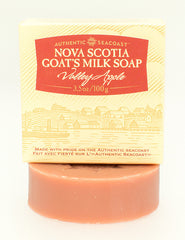 Authentic Seacoast Nova Scotia Goat's Milk Soap - Valley Apple
