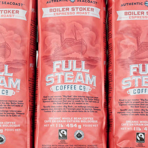 Full Steam Coffee, Authentic Seacoast Compacy