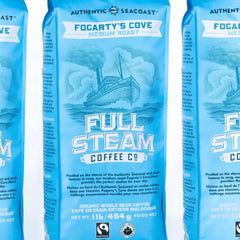 Full Steam Fogarty's Cove Medium Roast Coffee