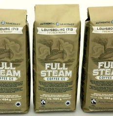 Full Steam Louisbourg 1713 French Roast