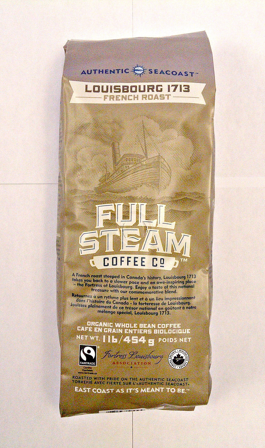 Full Steam Louisbourg 1713 French Roast (Whole Bean)
