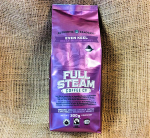 Full Steam Even Keel - Dark Medium Roast (GROUND)
