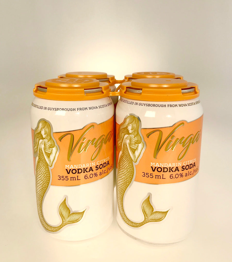 Virga Vodka Mandarin Soda, Authentic Seacoast Company