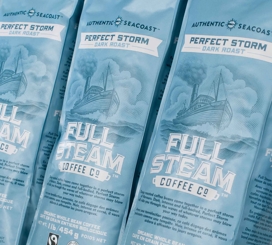 Full Steam Perfect Storm Dark Roast Coffee (Whole Bean)