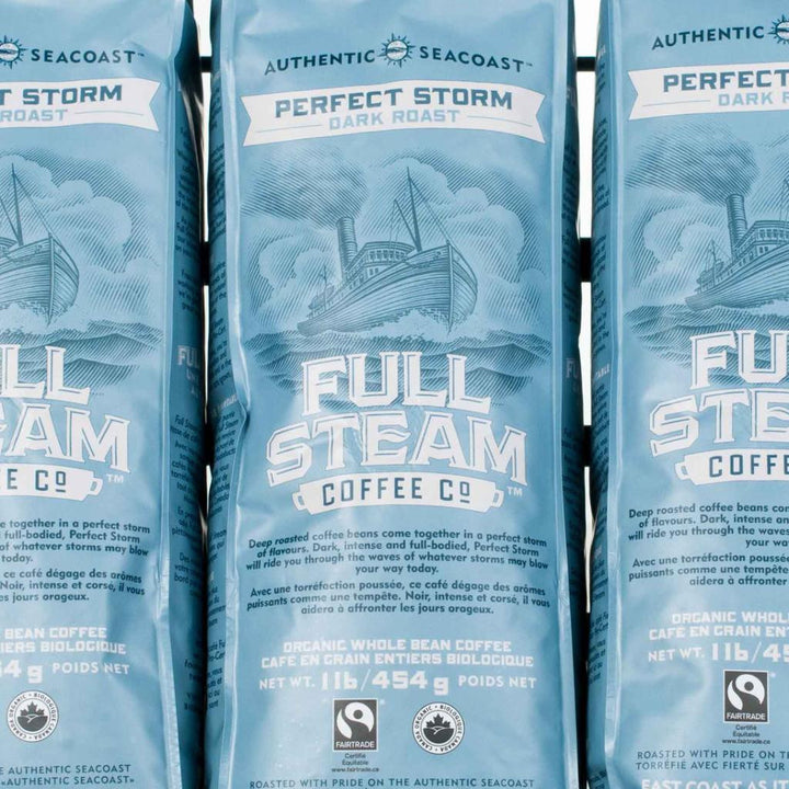 Full Steam Coffee, Authentic Seacoast Company