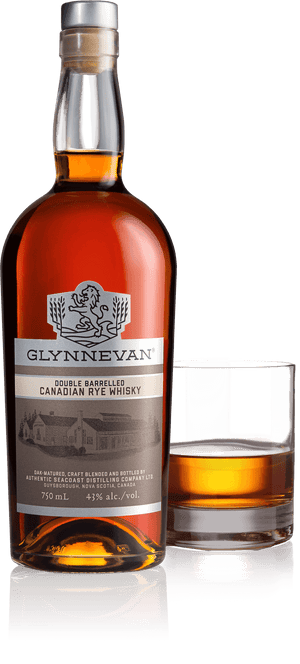 Glynnevan Rye Whisky DOUBLE BARRELLED
