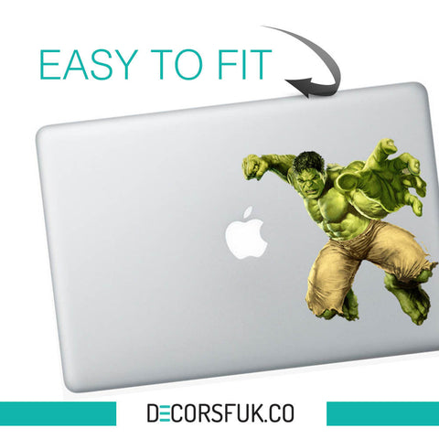Hulk Marvel Macbook Stickers - best quality vinyl sticker | Macbook Decal - Influent UK