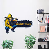 Banksy hooligan graffiti stickers for laptops walls fridge car snitches get stit - Influent UK