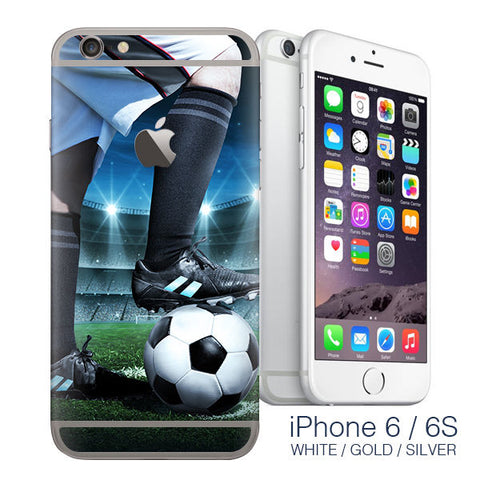 Football Stickers for iPhone 6 wrap skin - iphone skins - covers for iphone