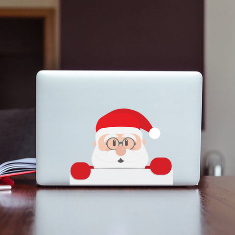 Father Christmas Decorative Stickers, Window, wall, Car Decals ...