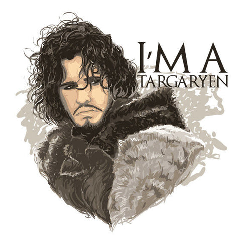 I'm a targaryen Game of Thrones Winter is coming Sticker Laptop Car iPhone Decal - Influent UK
