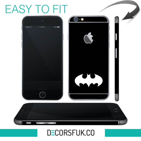 Batman iPhone 6 wrap skin - iphone skins - covers for iphone - self adhesive - Influent UK