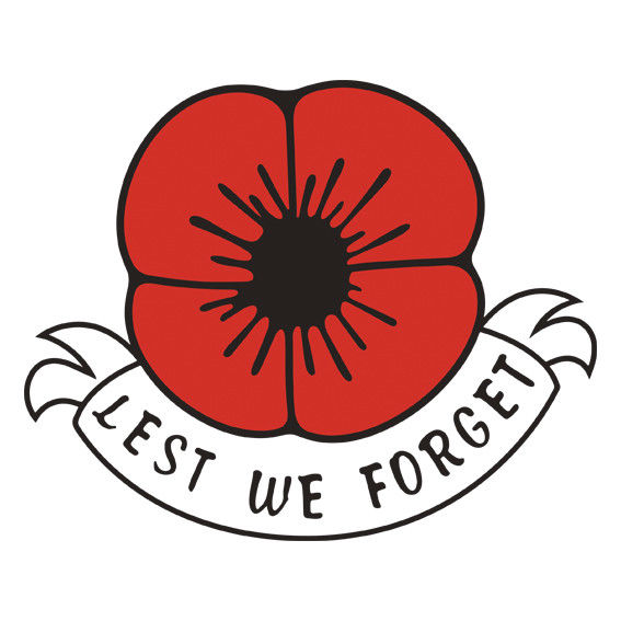 Lest we forget remembrance day symbol poppy flower sticker car lest we forget remembrance day symbol poppy flower sticker car window fridge mightylinksfo