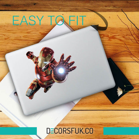 Ironman Flying Macbook Stickers /Top quality vinyl sticker | Macbook Decal Stark