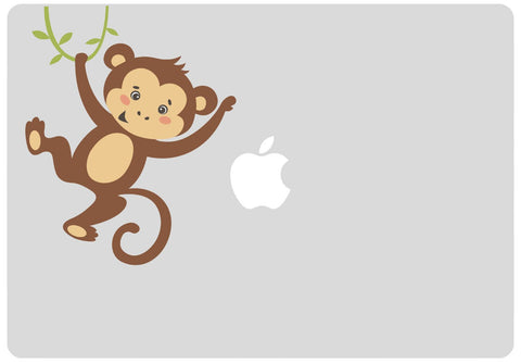 Monkey MacBook sticker | Laptop stickers | Any size MacBook / Decal / car /