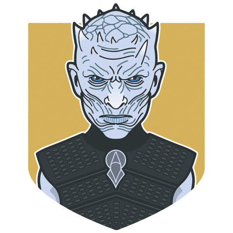 White Walker 2 Game of Thrones Sticker, Car Van, Laptop, Phone, Wall Art Decal Night King