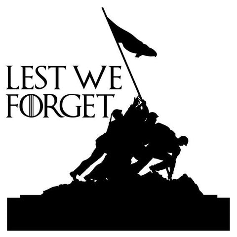 Lest we forget Army Flag, Remembrance Day Poppy Flower Sticker Car Window Decal - Influent UK
