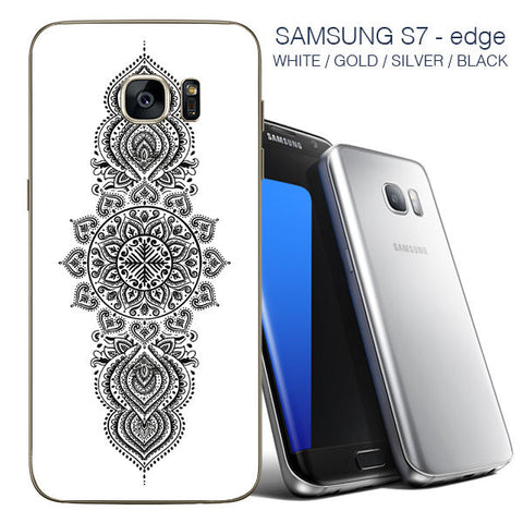 Mandala Samsung 7 edge back skin - stickers for Samsung 7 edge / Samsung 7 edge - Influent UK