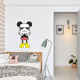 Mickey Mouse Stormtrooper Stickers | Wall Art Window, Car, Laptop Macbook Decal - Influent UK