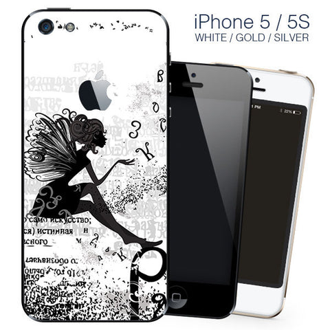 Fairy iPhone 5 wrap skin - iphone skin - covers for iphone 5 self adhesive