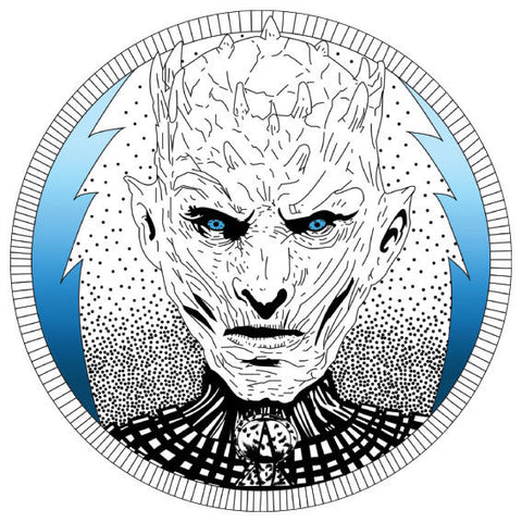 White Walker 3 Game of Thrones Sticker, Car Van, Laptop, Phone, Wall Art Decal Night King
