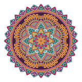 Colourful Mandala Design Sticker Decor Car, Van, Fridge, Laptop, Wall Art Decal - Influent UK