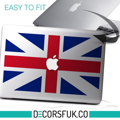 England Flag Macbook Stickers vinyl | Laptop sticker | Macbook Decal apple - Influent UK