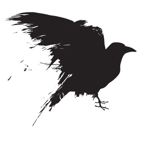 Three Eyed Raven Game of Thrones Sticker, Car Van, Laptop, Phone, Wall Art Decal