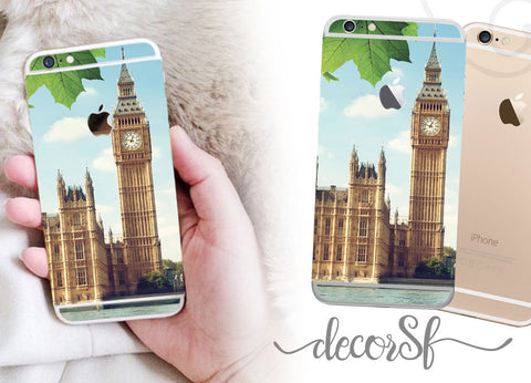Big Ben London iPhone 6 wrap skin - iphone skins - covers for iphone 6 - sticker