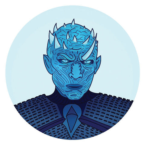 White Walker Game of Thrones Sticker, Car Van, Laptop, Phone, Wall Art Decal, night king