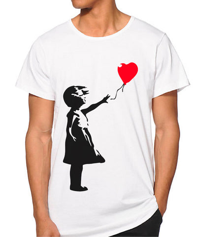 Banksy Balloon Girl T-shirt