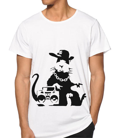 Banksy Rat Ghetto T-shirt