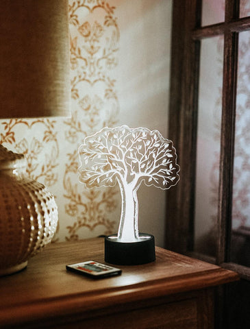 Tree Acrylic Lamp Gift for Boys and Girls